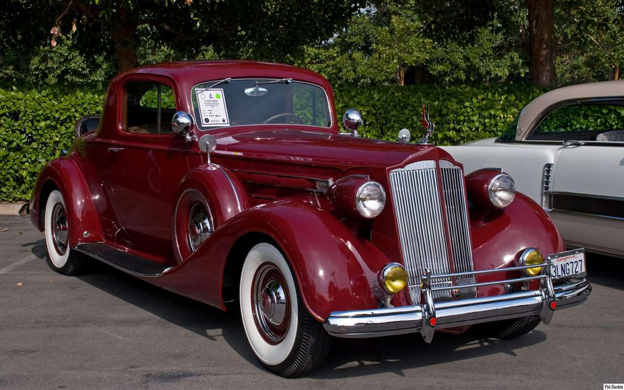 Packard motor car information 1937 packard twelve coupe for 1937 packard 3 window coupe
