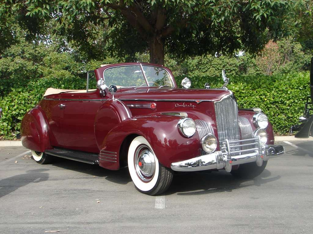 1941 160 Convertible Coupe