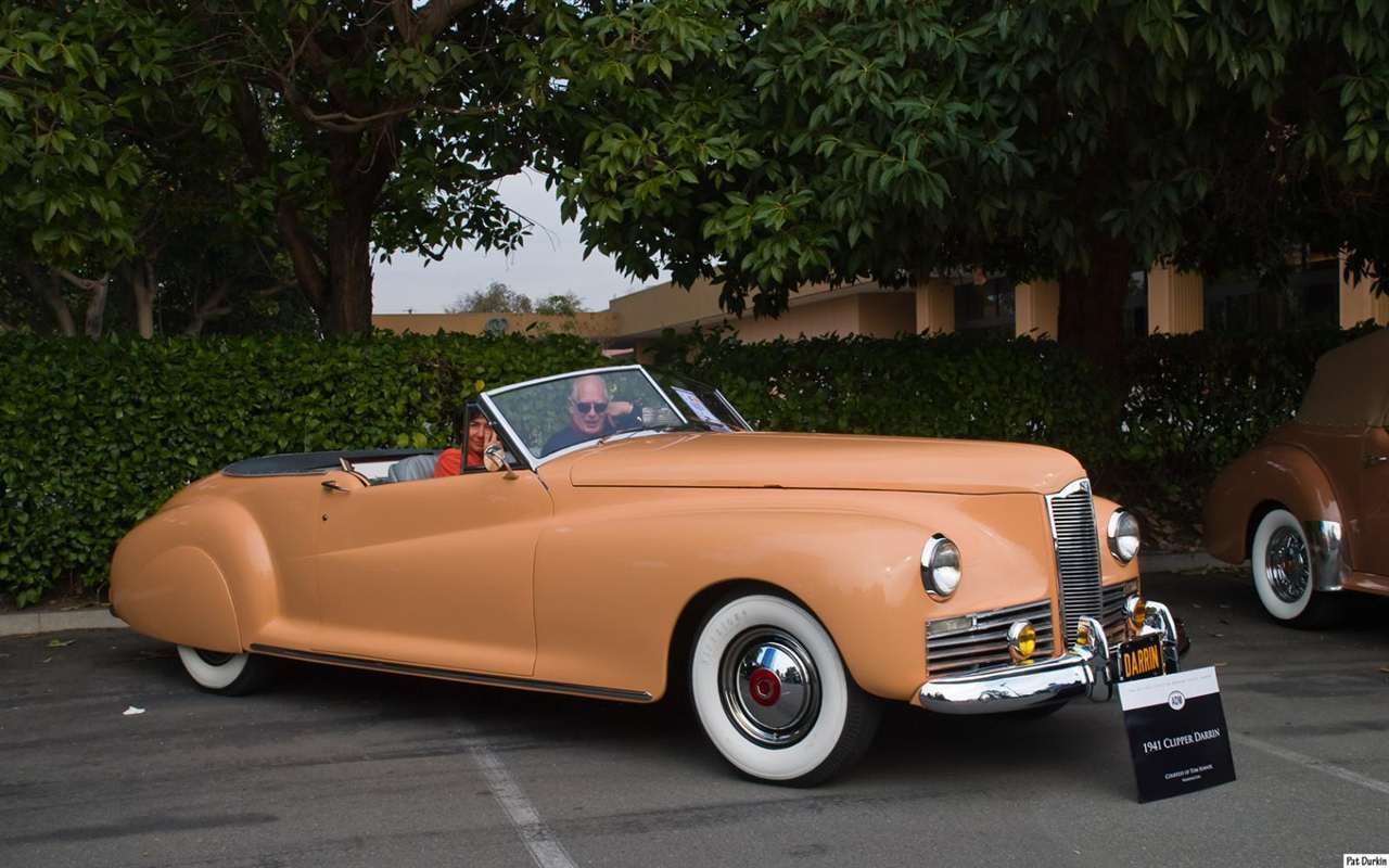 1941 Packard Clipper Darrin convertible - fvr