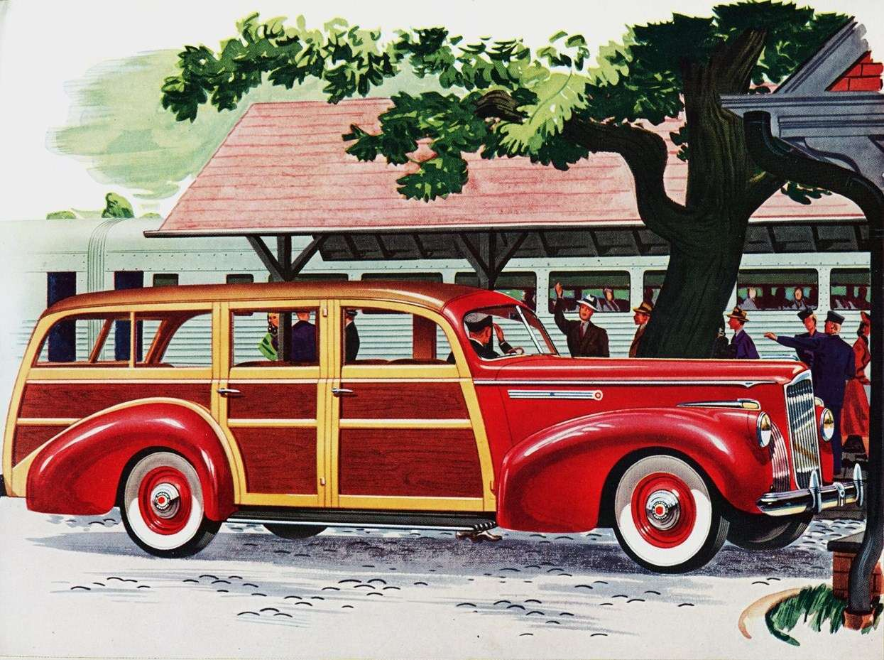 1941 PACKARD STATION WAGON