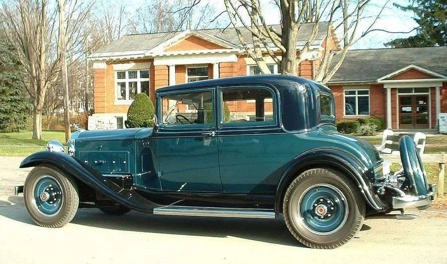 1932 Standard Eight (902) coupe-victoria, body style 507