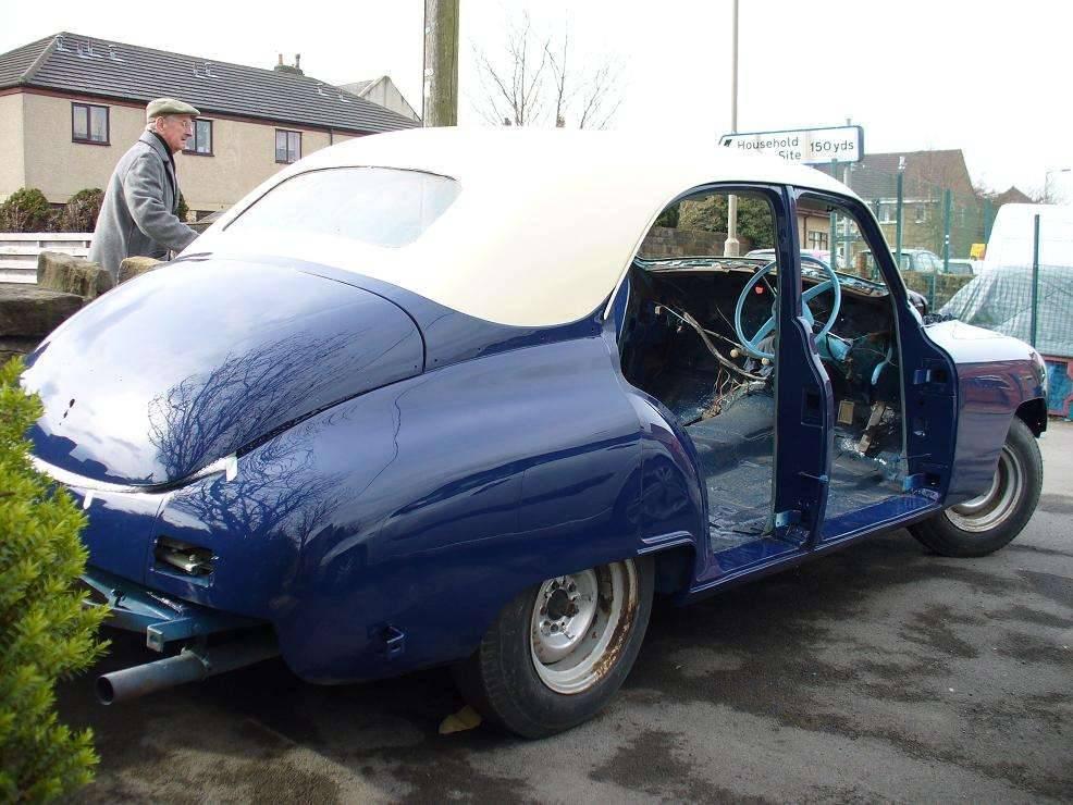 1948 Packard 22nd Series Export Touring Sedan
