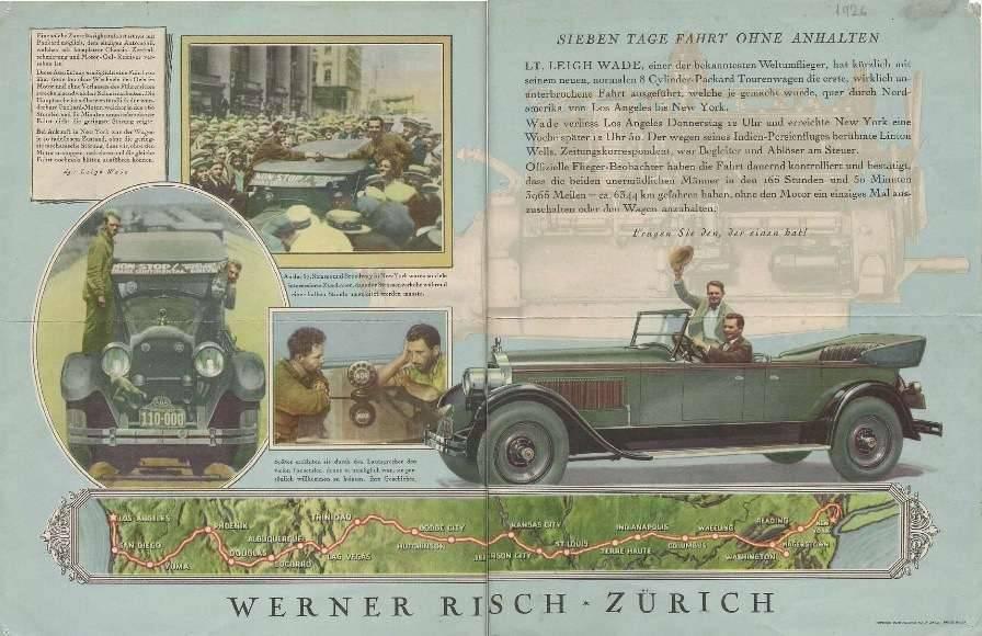Werner Risch Advert