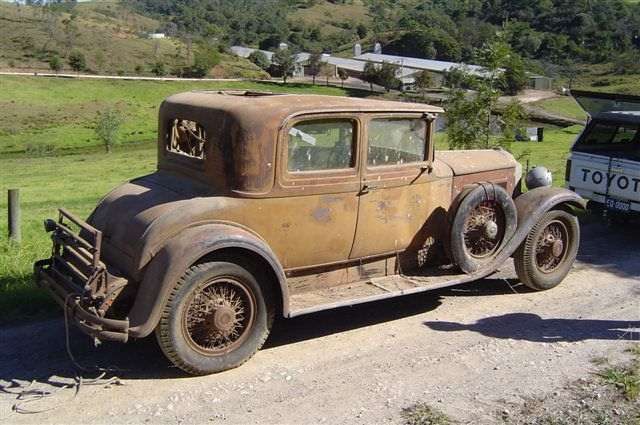 Evan Quamblys 1930 733 5 Pass Coupe