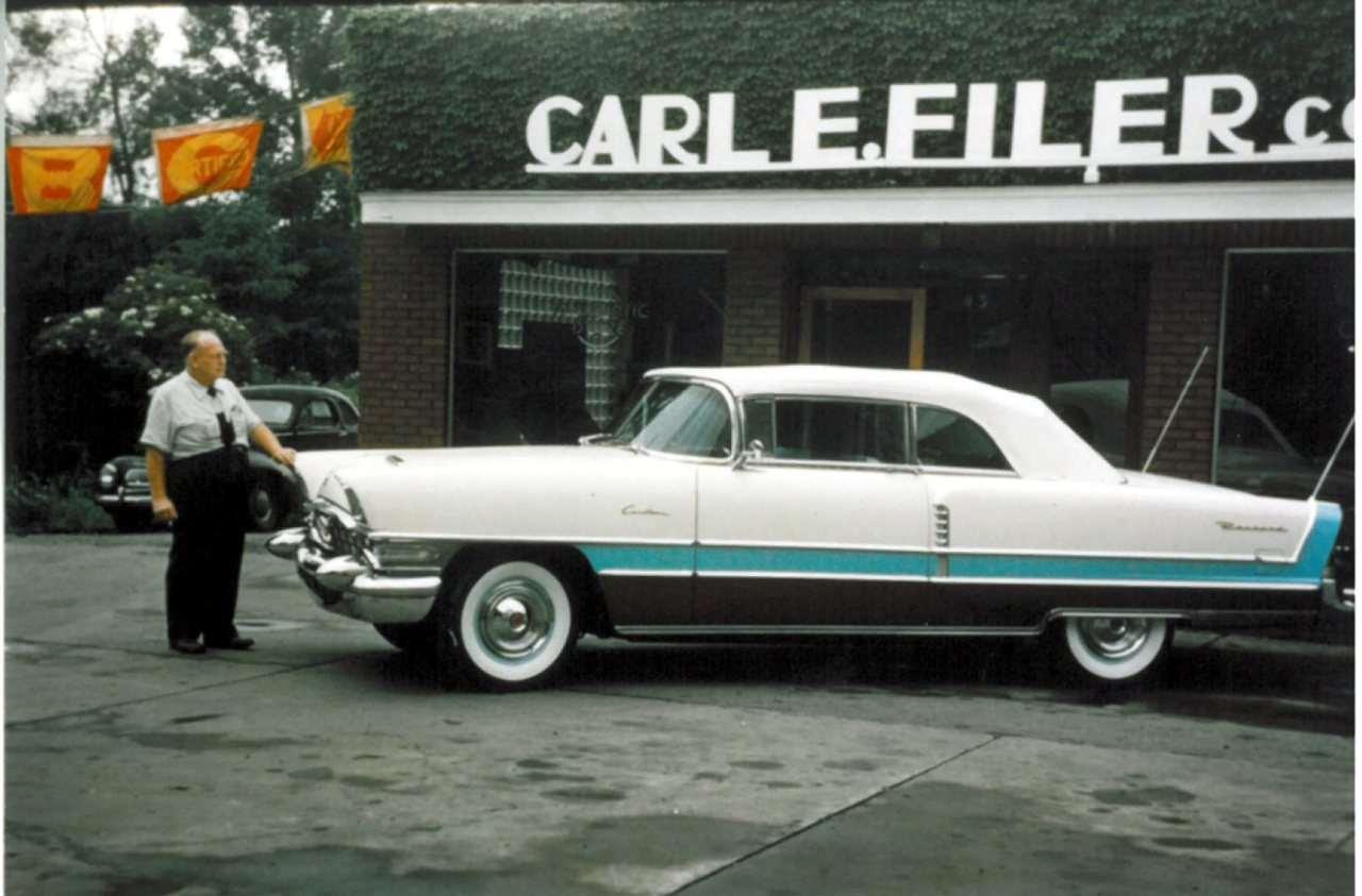 1956 Packard Caribbean 5699-1258 2