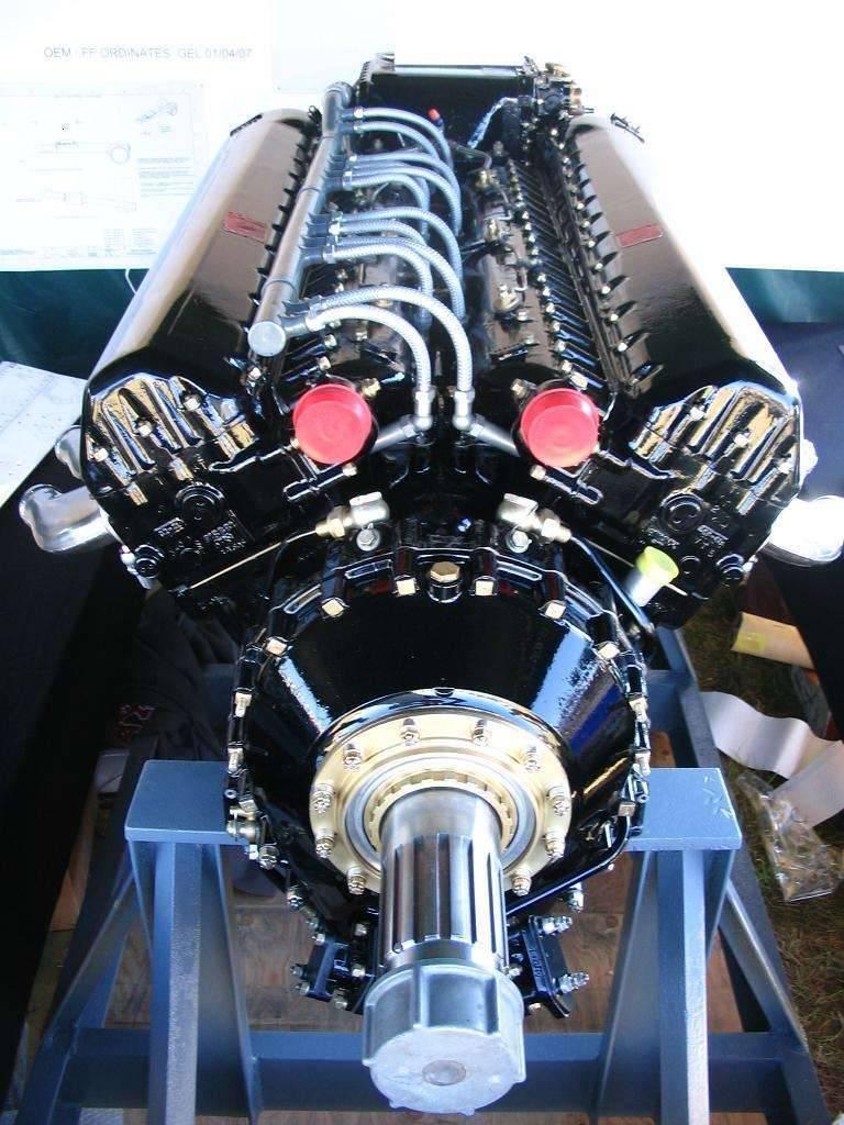 V-1560 Packard Merlin Engine