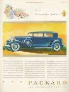 1932 PACKARD ADVERT
