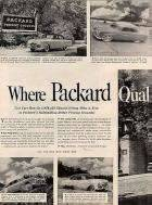 1952 PACKARD ADVERT-LH-B&W-081110
