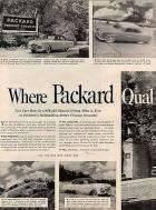 1952 PACKARD ADVERT-LH-B&W-081110