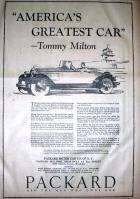 1926 PACKARD ADVERT-B&W