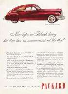 1946 PACKARD ADVERT