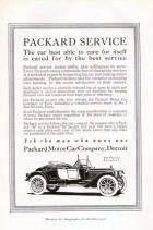 1913 PACKARD ADVERT-B&W