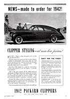 1942 PACKARD CLIPPER ADVERT-B&W