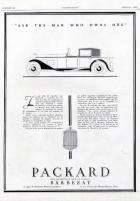 1929 PACKARD-FRANCE ADVERT-B&W