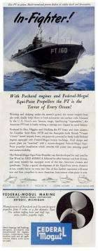 1943 PACKARD-FEDERAL MOGUL ADVERT