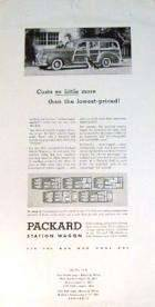 1941 PACKARD STATION WAGON ADVERT PROOF