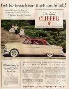 1954 PACKARD CLIPPER ADVERT
