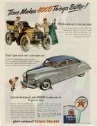 1945 PACKARD-GULF OIL ADVERT