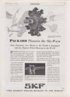 1930 PACKARD-SKF ADVERT-B&W