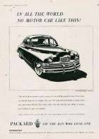 1948 PACKARD-AUSTRALIA ADVERT-B&W