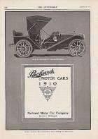 1910 PACKARD ADVERT-B&W