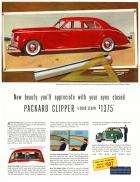 1941 PACKARD CLIPPER ADVERT