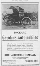 1900 PACKARD ADVERT-B&W