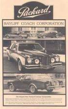 1980 PACKARD-BAYLIFF ADVERT-B&W