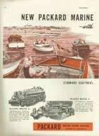 1947 PACKARD MARINE ADVERT-LH