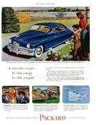 1949 PACKARD ADVERT