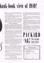 1940 PACKARD ADVERT RH-B&W