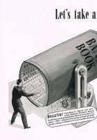 1940 PACKARD ADVERT LH-B&W