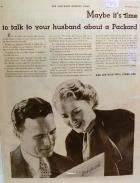 1932 PACKARD ADVERT-B&W