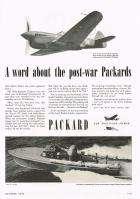 1943 PACKARD ADVERT-B&W