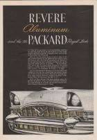 1956 PACKARD ADVERT-B&W