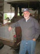 1919 Unrestored Packard Truck at Dave Lockards Packard Truck Meet at York Springs PA Sunday 14th Oct