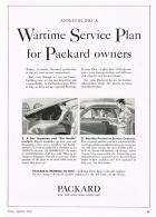 1942 PACKARD ADVERT-B&W