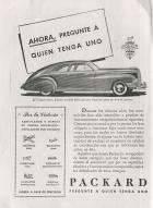 1945 PACKARD-ARGENTINA ADVERT-B&W