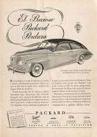 1945 PACKARD-ARGENTINA ADVERT-B&W