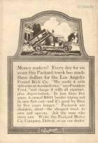1917 PACKARD TRUCK ADVERT-B&W