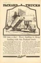 1917 PACKARD TRUCK ADVERT-B&W