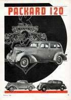 1935 PACKARD 120 ADVERT-B&W RH