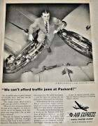 1953 PACKARD-AIR EXPRESS ADVERT-B&W