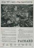 1945 PACKARD ADVERT-B&W