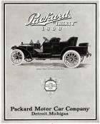 1909 PACKARD ADVERT-B&W