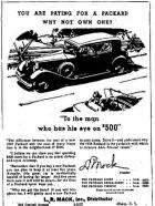 1933 PACKARD ADVERT-B&W