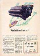 1944 PACKARD WWII ADVERT