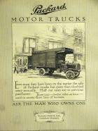 1911 PACKARD TRUCK ADVERT-B&W