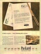 1945 PACKARD ADVERT