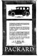 1922 PACKARD ADVERT-B&W